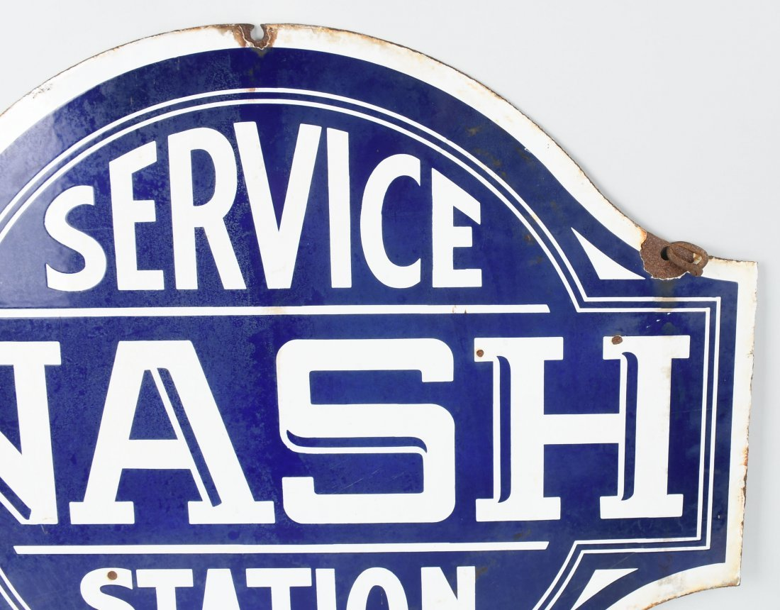 NASH SERVICE STATION DSP DIECUT SIGN - 2