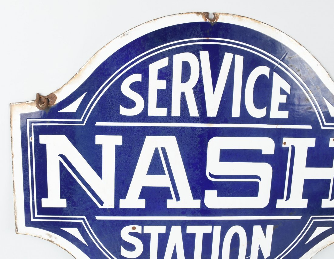 NASH SERVICE STATION DSP DIECUT SIGN - 3