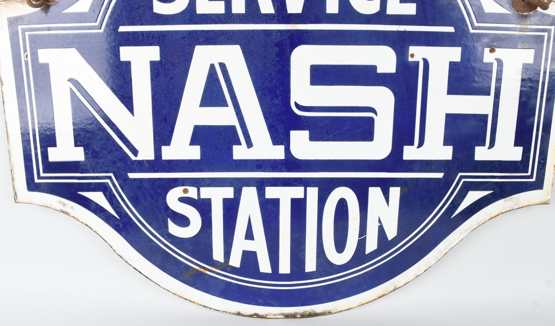 NASH SERVICE STATION DSP DIECUT SIGN - 4