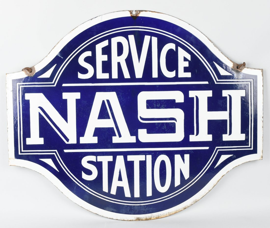 NASH SERVICE STATION DSP DIECUT SIGN - 5