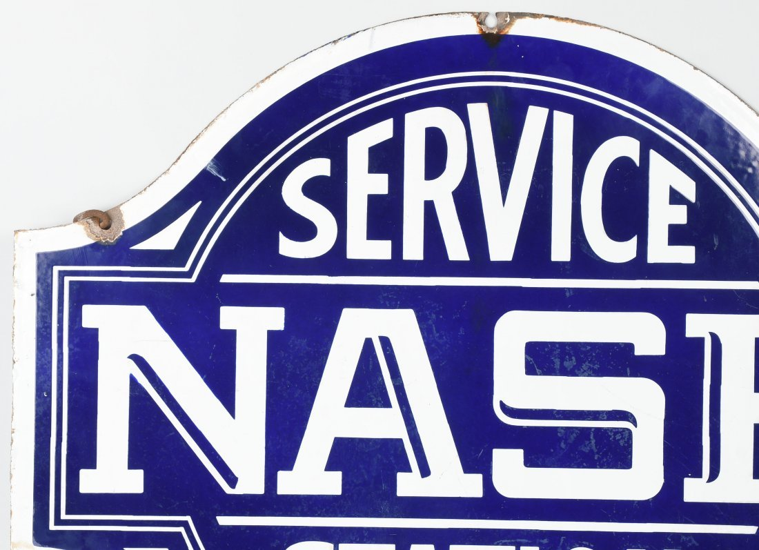 NASH SERVICE STATION DSP DIECUT SIGN - 7