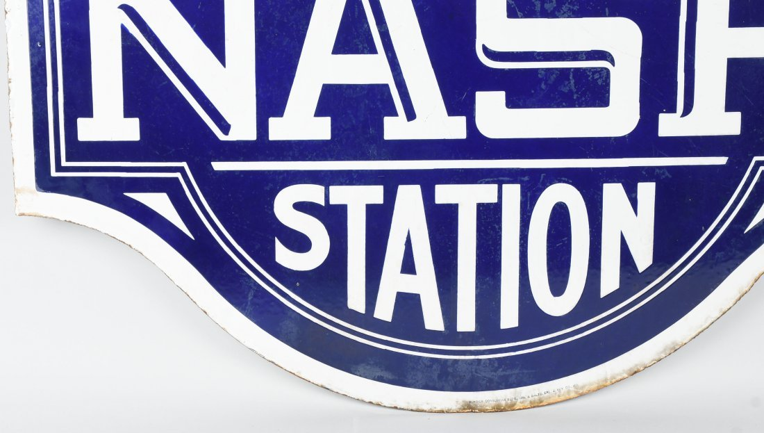 NASH SERVICE STATION DSP DIECUT SIGN - 8