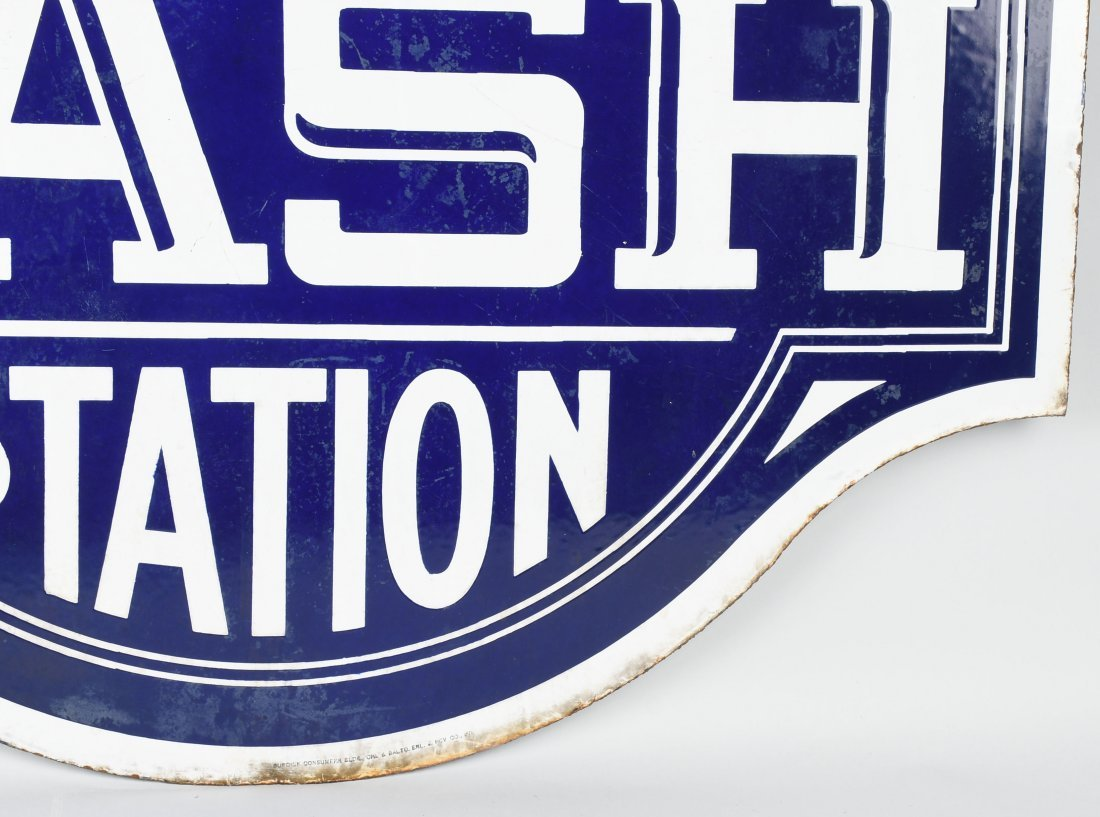 NASH SERVICE STATION DSP DIECUT SIGN - 9