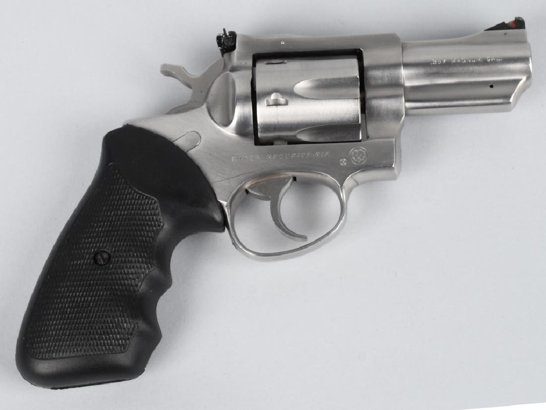 RUGER SECURITY-SIX .357 MAG. STAINLESS REVOLVER - 2