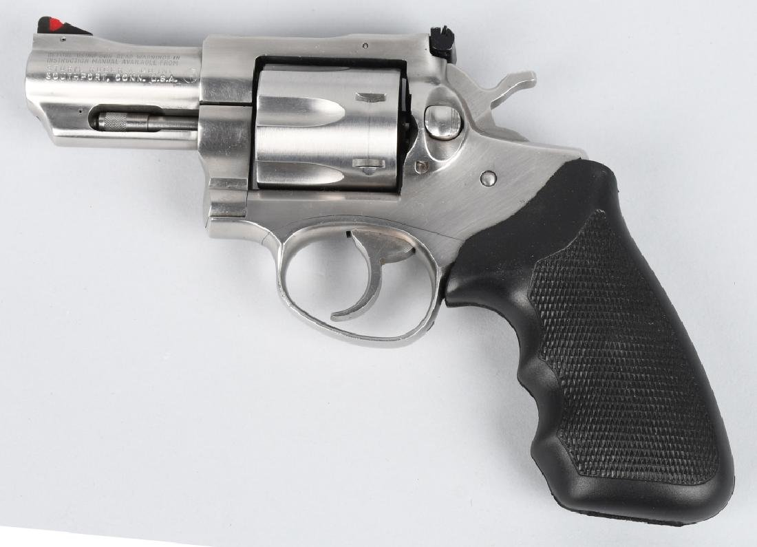 RUGER SECURITY-SIX .357 MAG. STAINLESS REVOLVER - 3