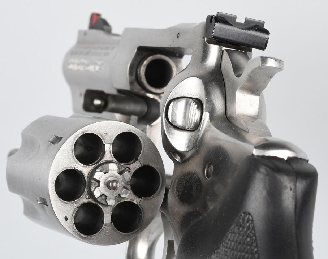 RUGER SECURITY-SIX .357 MAG. STAINLESS REVOLVER - 4