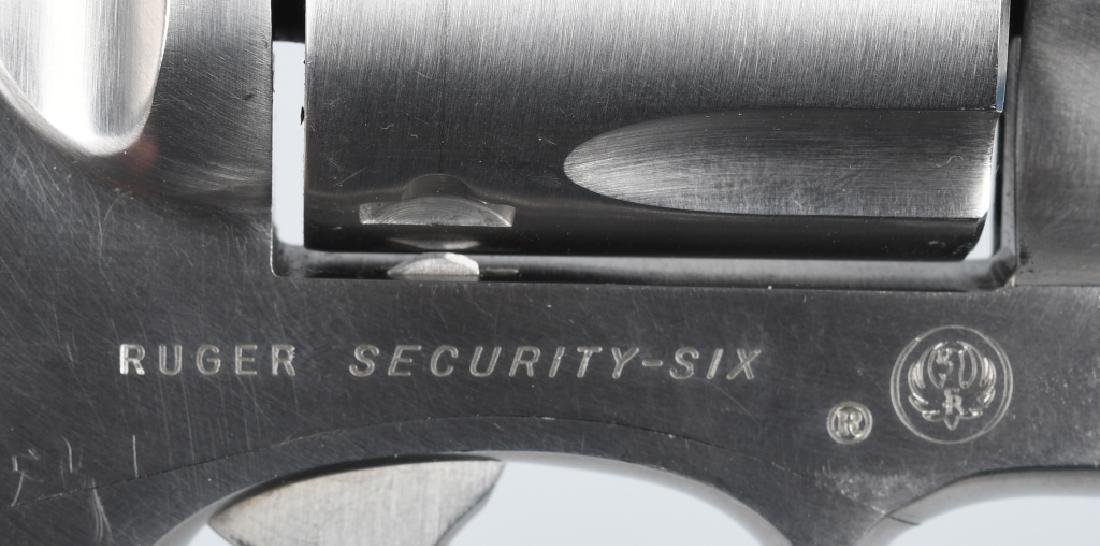 RUGER SECURITY-SIX .357 MAG. STAINLESS REVOLVER - 5