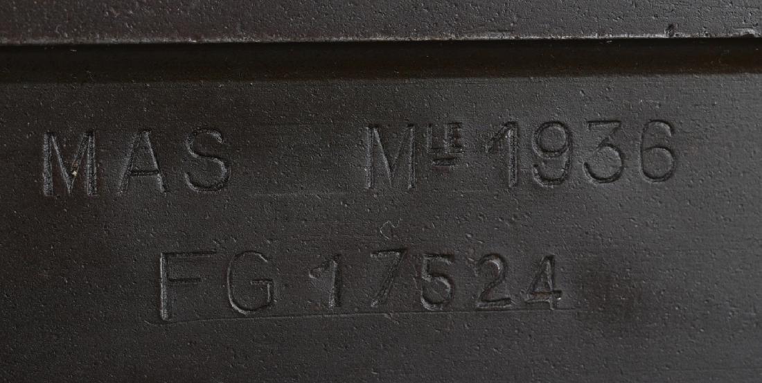 FRENCH MAS 1936 7.5mm RIFLE w/ GRENADE LAUNCHER - 10