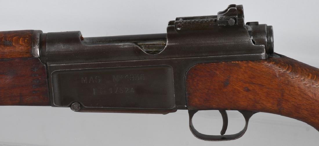 FRENCH MAS 1936 7.5mm RIFLE w/ GRENADE LAUNCHER - 6