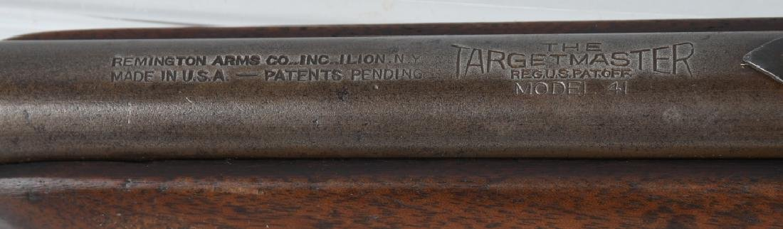 REMINGTON TARGETMASTER MODEL 41, .22 BOLT RIFLE - 9