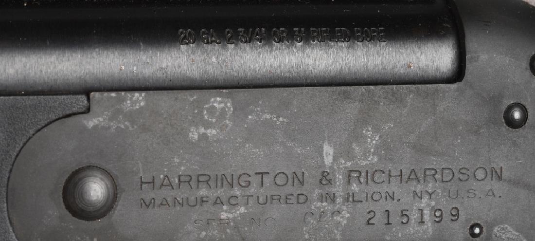 HARRINGTON & RICHARDSON .20 GA SHOTGUN - 9