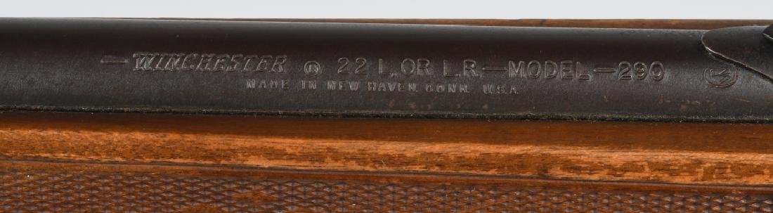 WINCHESTER MODEL 290, .22 SEMI AUTO RIFLE - 9