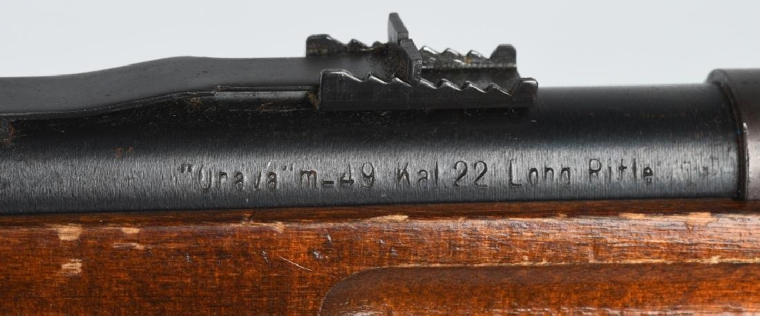 VALMET FINLAND MODEL 49, .22 BOLT ACTION RIFLE - 10