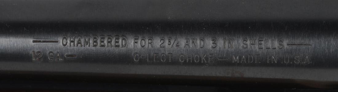 WESTERNFIELD MODEL 550, 12 GA. PUMP SHOTGUN - 10