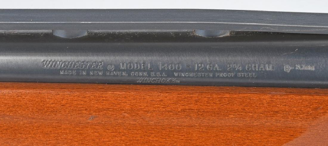 WINCHESTER MODEL 1400. 12 GA. SEMI AUTO SHOTGUN - 9
