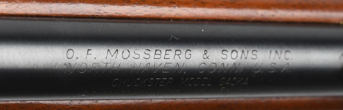 MOSSBERG CHUCKSTER 640KA .22 BOLT RIFLE - 10