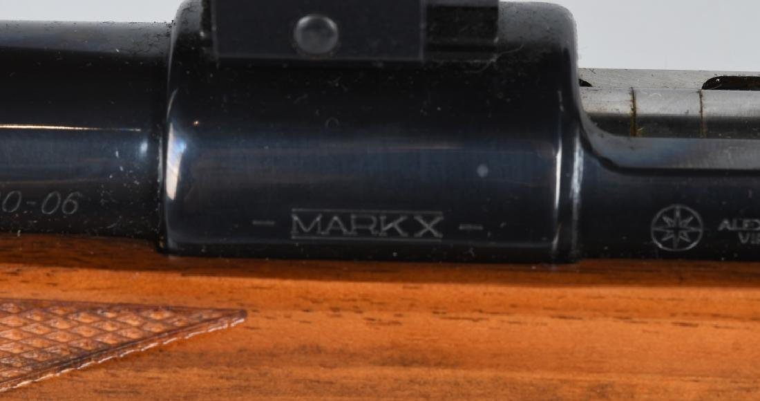 INTERARMS MARK X 30-06, BOLT RIFLE, w/ SCOPE - 10