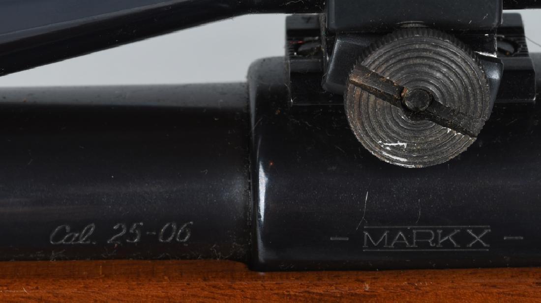 INTERARMS MARK X 25-06, BOLT RIFLE, w/ SCOPE - 9