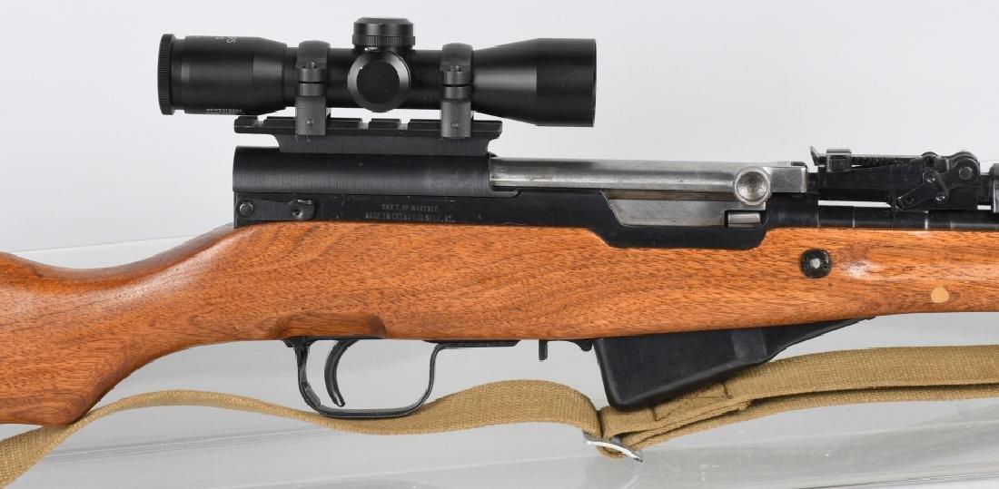 NORINCO SKS 7.52mm SEMI AUTO RIFLE w/ SCOPE - 2