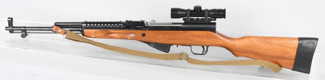 NORINCO SKS 7.52mm SEMI AUTO RIFLE w/ SCOPE - 6
