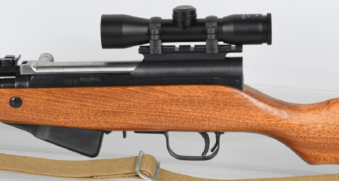NORINCO SKS 7.52mm SEMI AUTO RIFLE w/ SCOPE - 7