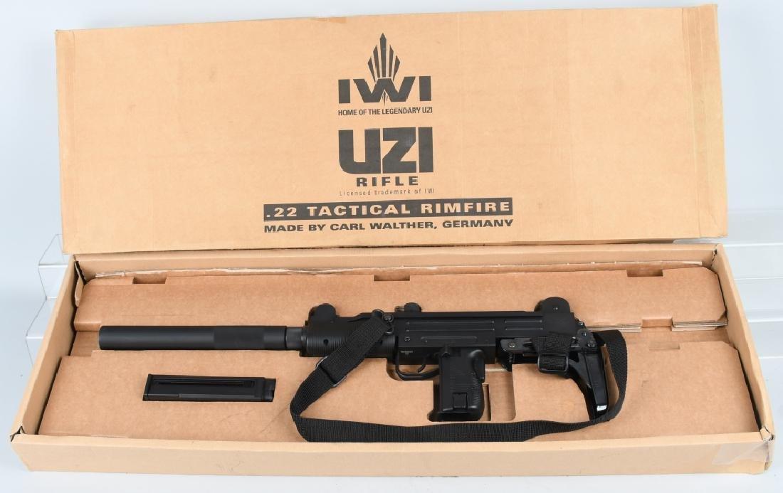 MP UZI ISRAEL .22 SEMI AUTO RIFLE, BOXED