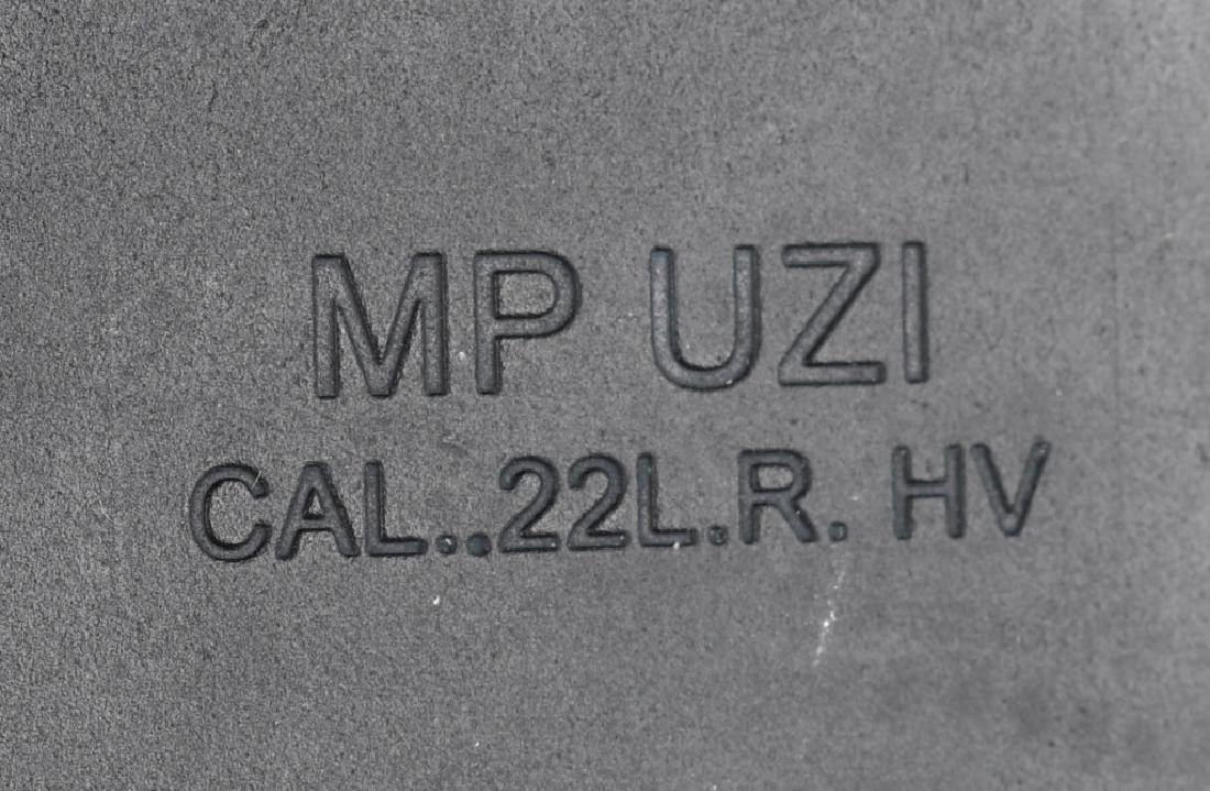 MP UZI ISRAEL .22 SEMI AUTO RIFLE, BOXED - 8