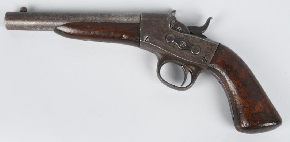 REMINGTON MODEL 1867 .50 ROLLING BLOCK PISTOL - 2