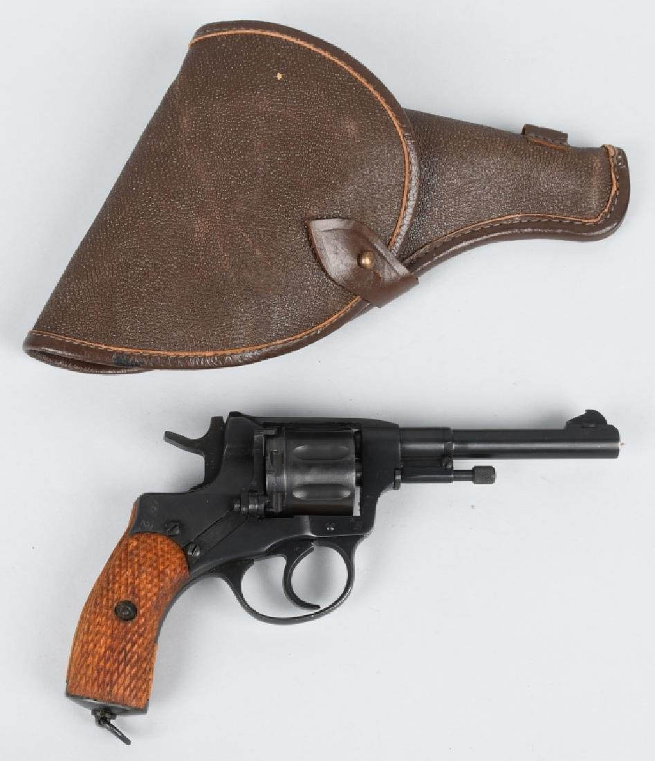 RUSSIAN MODEL 1895 MOSIN NAGANT 7.62x38R, REVOLVER