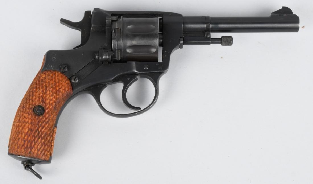 RUSSIAN MODEL 1895 MOSIN NAGANT 7.62x38R, REVOLVER - 2