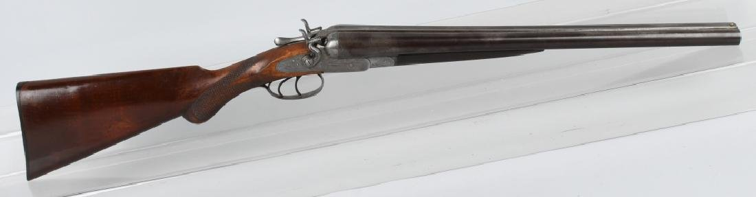 ANTIQUE MANHATTAN ARMS SxS 12 GA. SHOTGUN