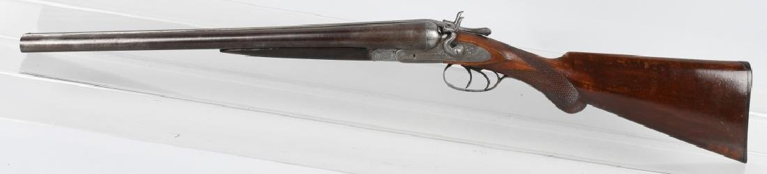ANTIQUE MANHATTAN ARMS SxS 12 GA. SHOTGUN - 5
