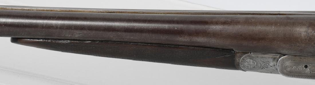ANTIQUE MANHATTAN ARMS SxS 12 GA. SHOTGUN - 8