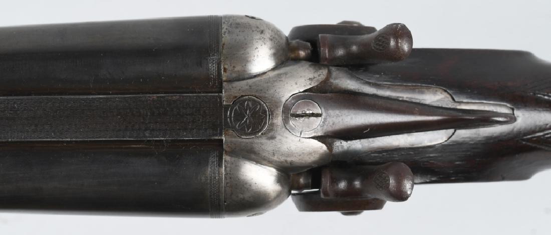 ANTIQUE ENTERPRISE BELGIUM SxS 12 GA SHOTGUN - 10