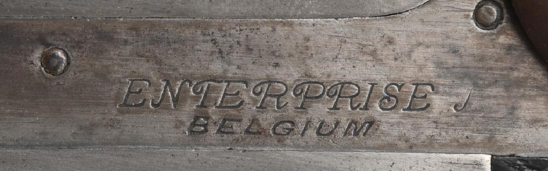 ANTIQUE ENTERPRISE BELGIUM SxS 12 GA SHOTGUN - 9