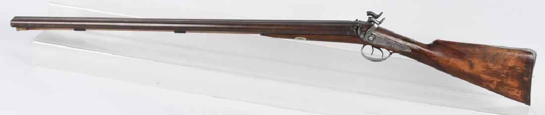 J. MANTON LONDON SxS 12 GA. PERCUSSION SHOTGUN - 5