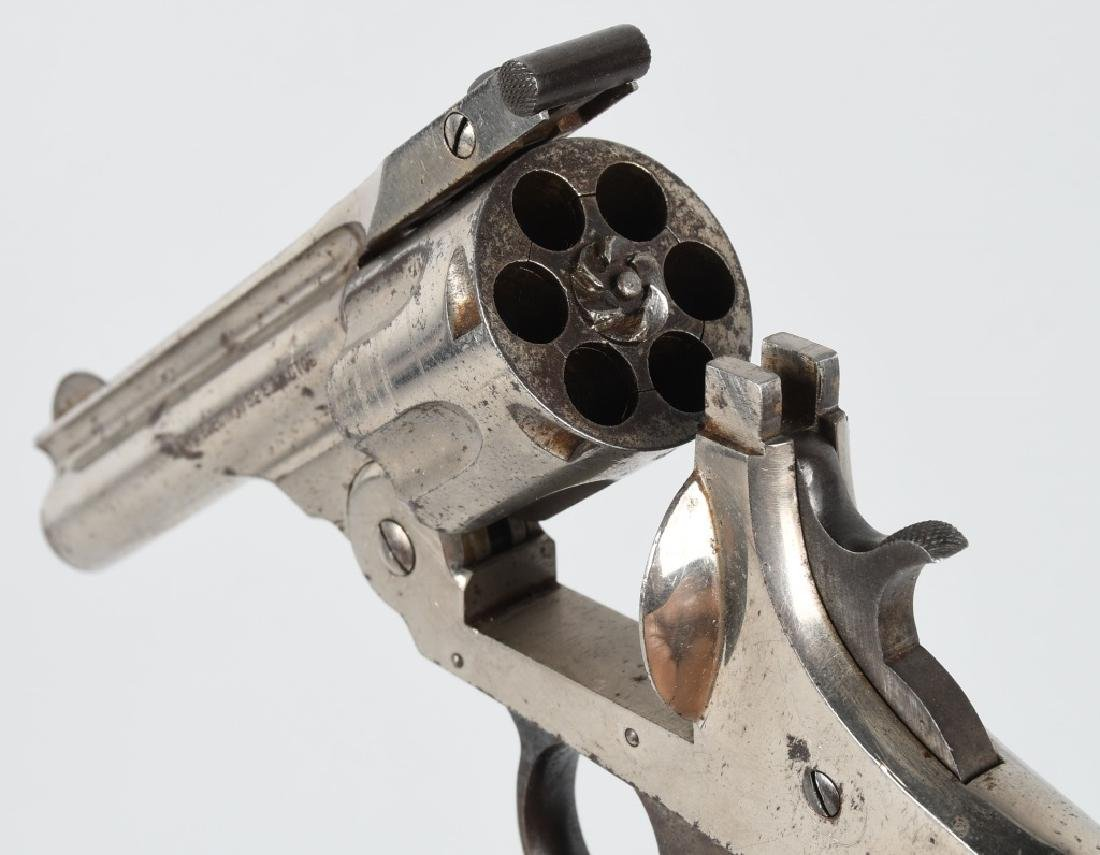 H & R AUTOMATIC EJECTION DA .32 REVOLVER - 3