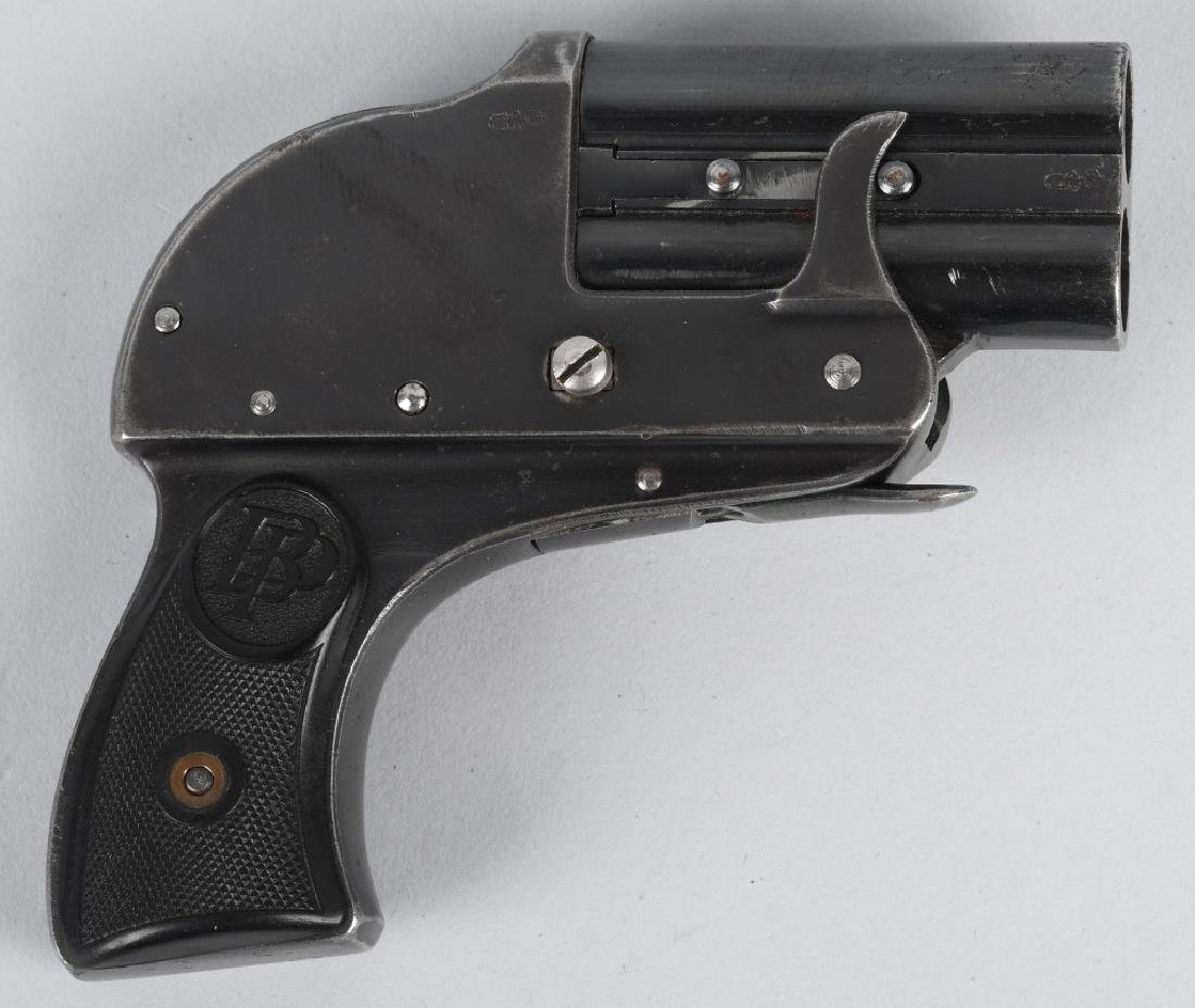 GERMAN PERPLEX MODEL 2, O/U POCKET FLARE PISTOL