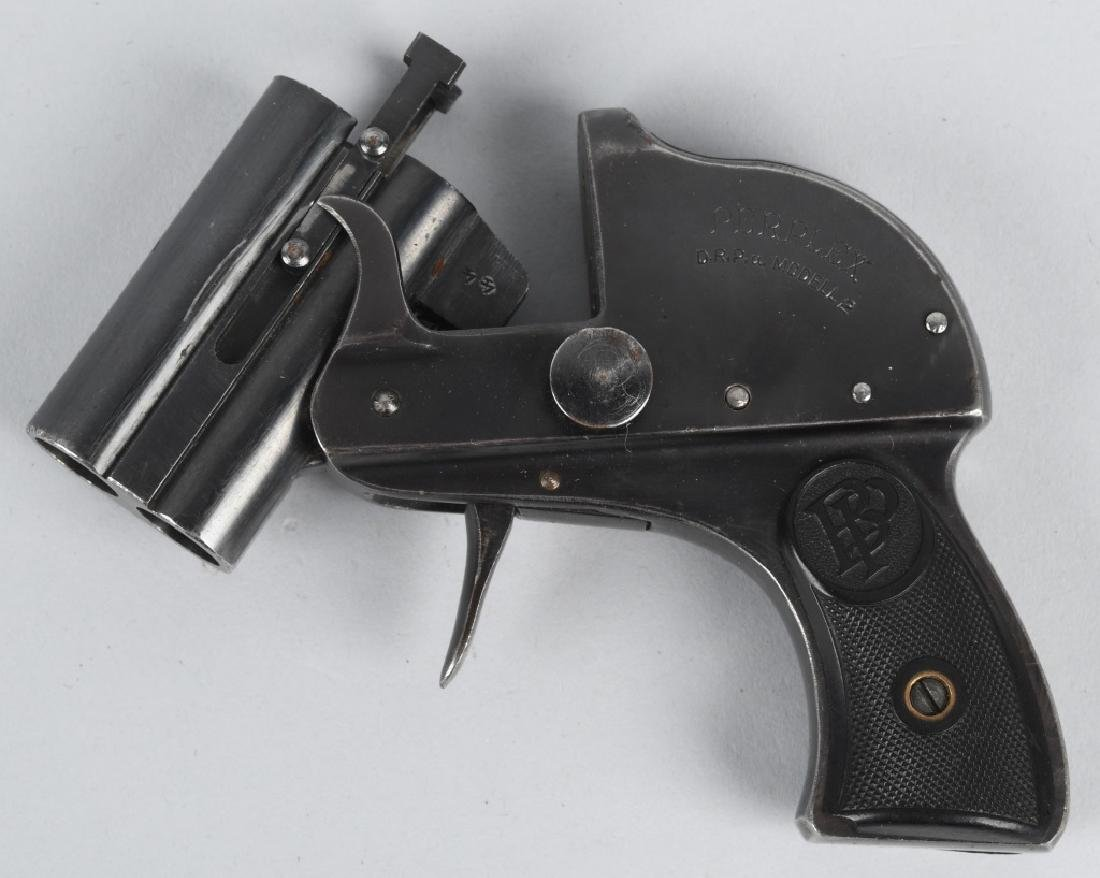 GERMAN PERPLEX MODEL 2, O/U POCKET FLARE PISTOL - 2