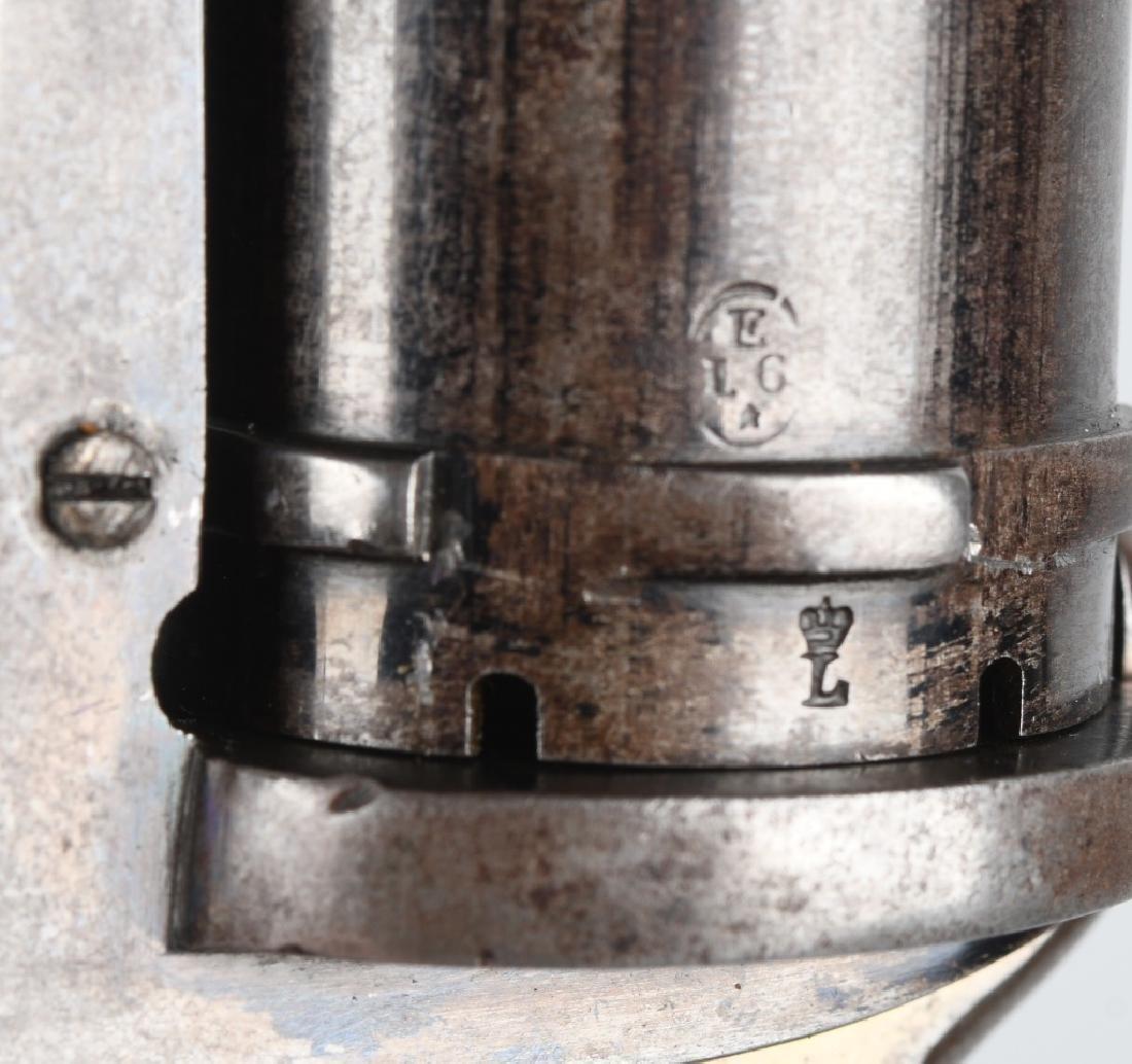 ANTIQUE LeFAUCHEUX TYPE 7mm PIN FIRE w/ CASE - 5