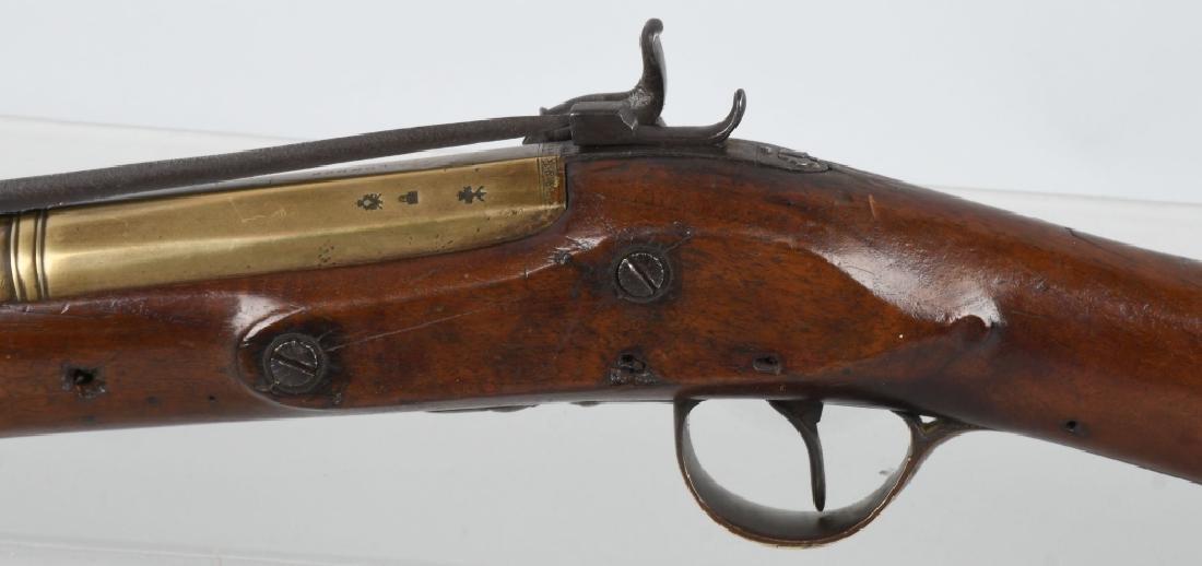 BRITISH SMITH brass-barrel BLUNDERBUSS & BAYONET - 10