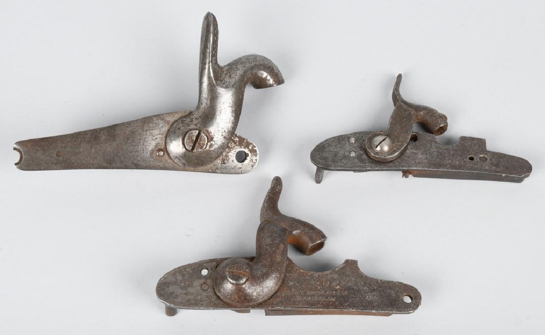 3-PERCUSSION GUN LOCKS