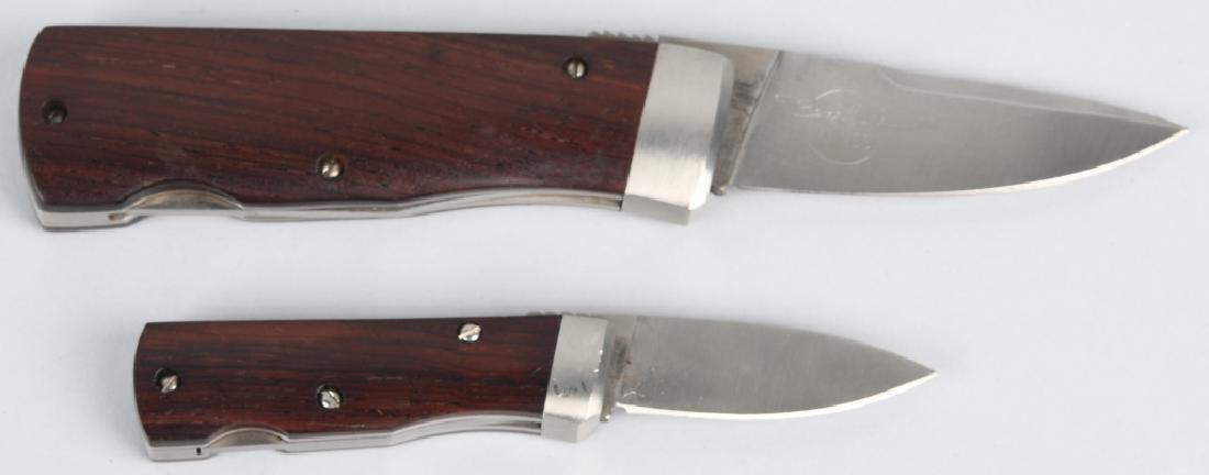 2 BENCHMARK ROLLER KNIVES