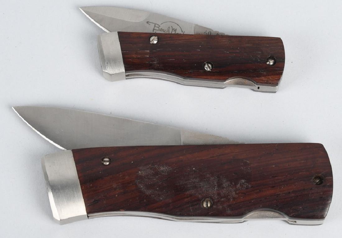 2 BENCHMARK ROLLER KNIVES - 6