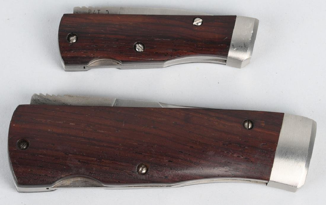 2 BENCHMARK ROLLER KNIVES - 7