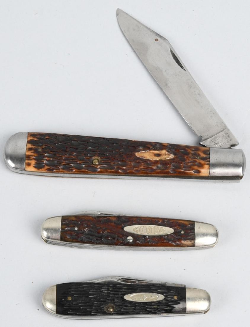 3- ROBESON FOLDING POCKET KNIVES
