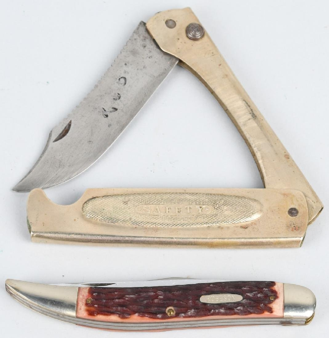 2 Pocket Knives Marbles & Robeson / Camillus