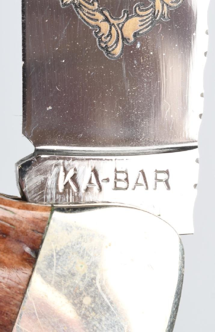 2 -KA-BAR HUNTER KNIVES 1989 LAST YEAR KA-BAR CLUB - 6