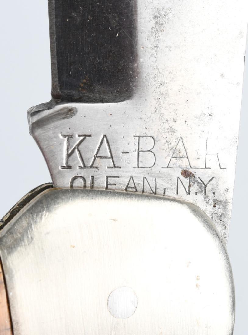 2 -KA-BAR HUNTER KNIVES 1989 LAST YEAR KA-BAR CLUB - 8