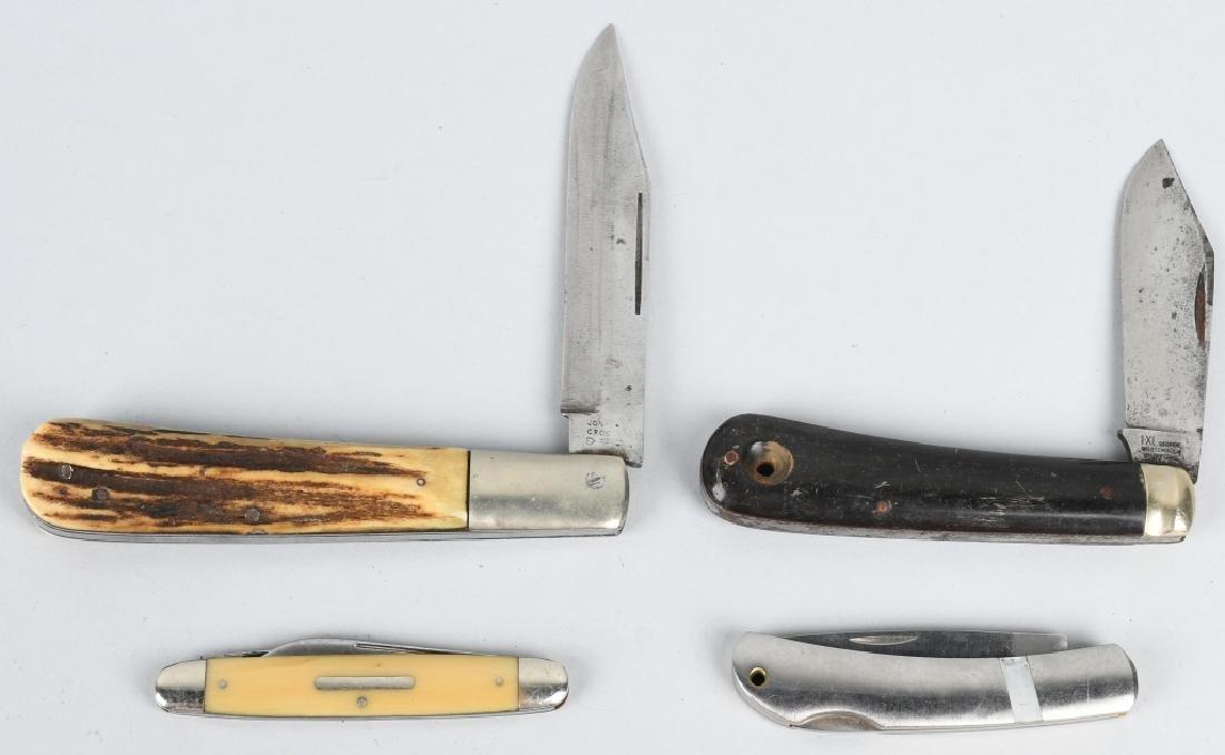 4 - POCKET KNIVES JONA CROO, BALDWIN, WOSTENHOLM